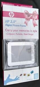 """HP 3.5"""" Digital Picture Frame Compact Portable df300a4 new/sealed"""