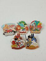 Disneyland resort Trading Pin Lot of 5 Disney Resort Mickey Disneyland