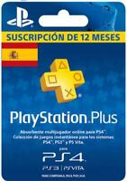 Suscripción para PlayStation Plus para 365 Días | Entrega Rápida | Garantía