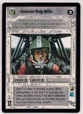 Star Wars CCG SE LS RARE Commander Wedge Antilles