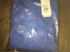 Country Road Heritage Sweat. NWT. Color Princess Blue . Size S