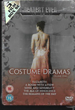 GREATEST EVER COSTUME DRAMAS VOLUME ONE (1) R2 DVD STEELBOOK 5-DISC NEW/SEALED