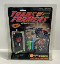 SIDESWIPE TRANSFORMERS G2 ROBOTS IN DISGUISE SEALED HASBRO 1992
