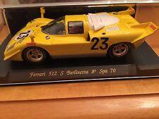 M/B Ferrari 512 S Berlinetta 8HR Spa 70 jaune ref C22
