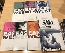 East of West COMPLETE #1-45 Hardcover/TPB Set #1,2,3,4,5,6 + Year 3 HC Series TP