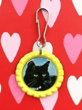 Cats Kittens Cat Kitten Lanyard Backpack Purse Charm Zipper Pull #3