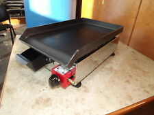 Lpg griddle / hotplate / barbecue / BBQ / 27x40 cm Gasgrill Plancha