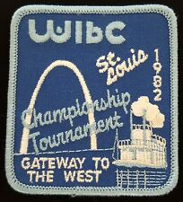 Vintage Bowling Patch 1982 St Louis WIBC Championship Tournament