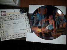 Bradford Exchange Collectors Plate in Box - American Journey: Kitchen With A P15