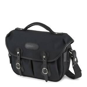 Billingham Small Hadley Pro Camera Bag- Black FibreNyte / Black Leather