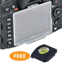 BM-12 Crystal Plastic Monitor LCD Screen Protector Cover for Nikon D800 hot shoe
