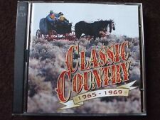 Time Life Classic Country 1965 - 1969 Double CD.Discs In Excellent Condition