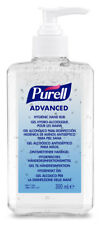 12 x 300ml Purell Advanced Hand Sanitizing Gel Pump Bottles Hygiene Rub Wash New