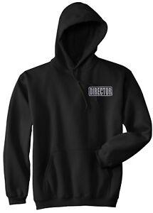 Movier Director hoodie, REFLECTIVE LOGO, film director hoodie