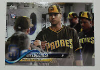2018 Topps Update Photo Variation SP US271 Joey Lucchesi San Diego Padres RC
