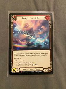 Flesh and Blood - Enlightened Strike - Unlimited Edition - NM Welcome to Rathe