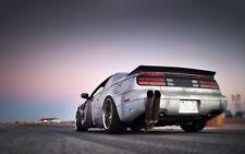 """NISSAN 300ZX TUNING A1 CANVAS PRINT POSTER FRAMED 33.1""""x21.4"""""""
