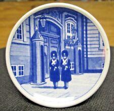 "Royal Copenhagen Kongens Livgarde 46-2010 Mini Plate, 3"" Diameter"