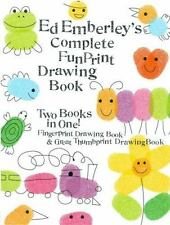 Ed Emberley's Complete Funprint Drawing Book by Ed Emberley 2002, Paperback