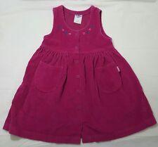 OSHKOSH 5T Pink Corduroy JUMPER DRESS