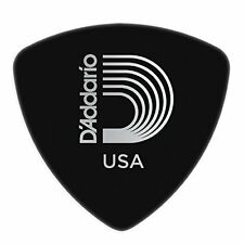 Planet Waves Black Celluloid Guitar Picks, 10 pack, Medium, Wide Shape