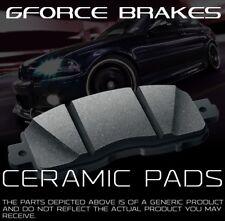 Front 4 Ceramic Brake Pads for 2008-2015 Chevrolet Silverado 1500