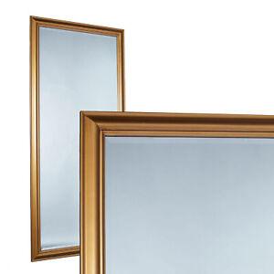 Spiegel Wandspiegel ca. 180 x 80 cm gold eleganter Landhaus-Stil Flurspiegel