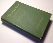 Holy Bible, KJV, Self Pronouncing, Brevier Bold Face Type, Collins, 1953