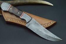 XXL Bowie Damastmesser Messer Taschenmesser Damast Jagdmesser Damststahl #152