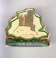 RARE PINS PIN'S .. BANQUE BANK ASSURANCES MUTUELLE DE L ARIEGE FOIX 09 ~BN