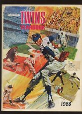 1968 Minnesota Twins Baseball Yearbook EX+