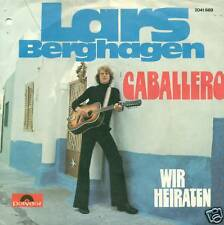"""Lars Berghagen Caballero Vinyle Single 7 """" S3320"""
