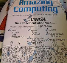 Amazing Computing Magazine #2 March 1986 Commodore Amiga Information & Programs
