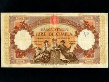 Italy:P-89c,10000 Lire,1957 * ITALIA * RARE *