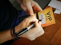 VIP PASS (Gimmick and Online Instructions) by JOTA Close up Magic Tricks Mental