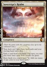 Sovereign's Realm // NM // Conspiracy: Take the Crown // engl. // Magic