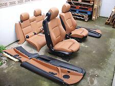 inkl. UMBAU individual sattelbraun BMW E93 Cabrio Lederausstattung Sport Sitze M