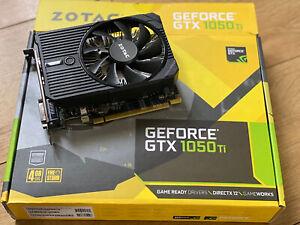 Zotac GeForce GTX 1050 Ti 4GB 128BIT GDDR5 Gaming Graphics Card