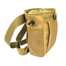 Weight Lifting Rock Climbing Bouldering Chalk Bag with Clip-on Belt - Tan