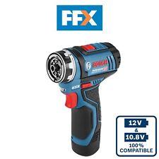 Bosch GSR12V15FC 12v 2x2.0Ah Flexiclick Cordless Drill Driver - 06019F6071