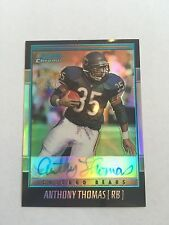 2001 Bowman Chrome Anthony Thomas Certified Issue Autograph. #BC-AT. Refractor