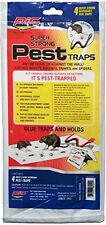 PIC GPT-4 Glue Pest Trap for Spider and Snake, 4-Pack
