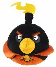 NEW Angry Birds Space Black Bomb Jumbo Stuffed Plush Backpack Zippered Pocket