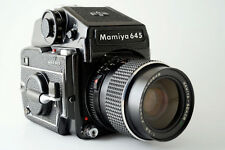 Mamiya M645 1000s SLR Camera + 55mm f2.8 Wide Angle Lens + Metered Prism Finder