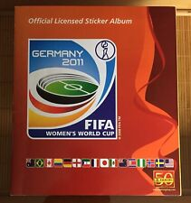 Sale Mint Condition Complete First Edition Panini Women's World Cup 2011 11.