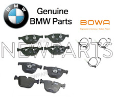 For BMW M5 M6 5.0L V6 Front+Rear Genuine Disc Brake Pad Set w/ Bowa Sensors