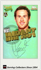 2010 Select NRL Champions Impact Foil Signature IS49 Colin Best (Rabbitohs)