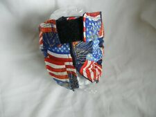 Female Dog Puppy Pet Diaper Washable Pant Sanitary Underwear Patriotic FLAG XXS