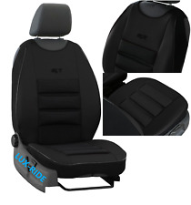 FRONT SEAT COVER MAT ARTIFICIAL LEATHER & FABRIC FITS FORD RANGER WILDTRAK