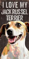Jack Russell Terrier Sign - I Love My 5x10